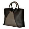 Женская сумка 35601 черная с серым 3