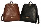 Женский рюкзак 2518 коричневый 5