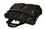 Мужской кожаный портфель 4369 черный 5