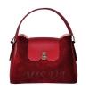 Женская замшевая сумка МIС 0703 бордовая 0
