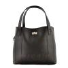 Женская сумка МІС 35694 черная-матовая 0