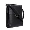 Мужская кожаная сумка Vesson 4621 черная  5