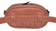 Женская сумка 35179 красная с тиснением 4