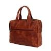 Мужской кожаный портфель Vesson 4631 рыжий 4