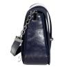 Женская замшевая сумка MIC 0708 синяя 3