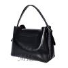 Женская замшевая сумка MIC 0703 черная 3