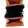 Мужская кожаная сумка Vesson 4555 рыжая 5