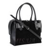 Женская замшевая сумка МІС 0714 черная 2