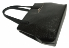 Women Bag 35381 black with embossing 3