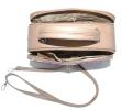 Женская сумка 35457 капучино с цветным принтом 5