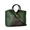 Women's bag 35601 Green - Combined 0