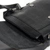 Мужская кожаная сумка Vesson 4633 черная  5