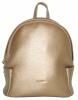 Женский рюкзак 35432 золотистый 0