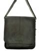 Мужская кожаная сумка 4229 черная 0