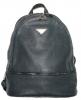 Кожаный рюкзак 4342 темно-синий 3