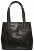 Women Bag 35381 black with embossing 0