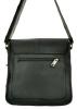 Мужская кожаная сумка 4229 черная 1