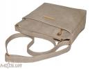 Женская сумка 35452 бежево-серая 4