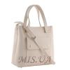 Женская сумка МІС 35759 бежевая 2