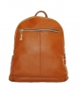 Leather backpack 2523 brown 0