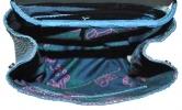 Женский рюкзак 2512 синий  4