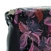 Женская сумка 32958 черная с цветным принтом 4