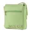 Женская  кожаная сумка МІС 2485 мятная 3