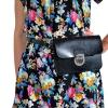 Женская сумка - конверт МІС 35723 черная 5