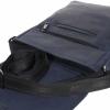 Мужская кожаная сумка Vesson 4626 cиняя 5