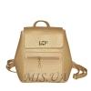 Женский рюкзак 35431 золотистый 0