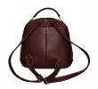 Жіночий рюкзак 2538 бордовий 3