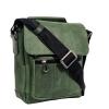 Мужская кожаная сумка Vesson 4639 зеленая 4