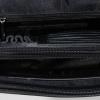 Мужская кожаная сумка-портфель Vesson 4206 черная 6