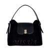 Женская замшевая сумка MIC 0703 черная 0