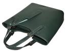 Женская кожаная сумка 19219 зеленая 2