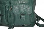 Жіночий рюкзак 2534 зелений 5