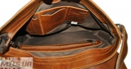 Мужской кожаный портфель 4227 рыжий 6