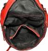Жіночий рюкзак 2537 червоний 4