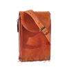 Мужская кожаная сумка Vesson 4555 рыжая 2