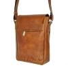 Men's leather bag 4392 orange 3