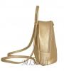 Женский рюкзак 35411 золотистый 3