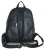 Кожаный рюкзак 4342 темно-синий 4