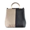 Женская сумка 35596-1 черная-комбинированая 0