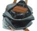 Мужской мягкий портфель 4326 черный с коричневым 6