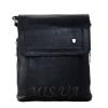 Мужская кожаная сумка Vesson  4126 черная 0