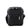 Мужская кожаная сумка Vesson  4550 черная 0