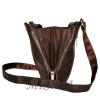 Men's leather handbag 4323 is brown 5