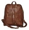 Женский рюкзак 2518 коричневый 3