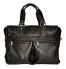 Мужской кожаный портфель 4369 черный 0