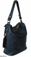 Женская кожаная сумка 2447 черная 0